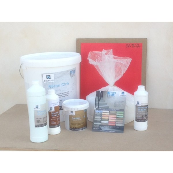 Kit piscine b ton cir online for Kit piscine beton